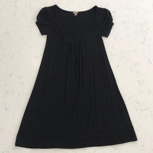 NWOT Halogen black swing dress. Size XS